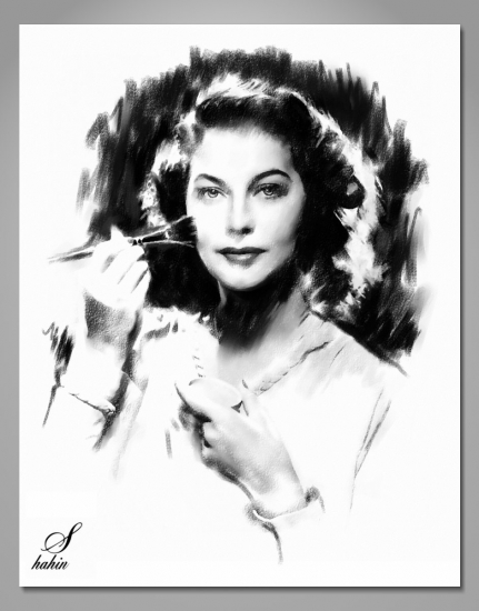 Ava Gardner by shahin